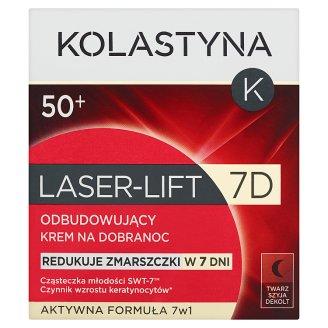 Kolastyna Laser-Lift 7D 50+ Odbudowujący krem na dobranoc 50 ml