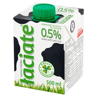Łaciate UHT Milk 0.5% Fat 0.5 L