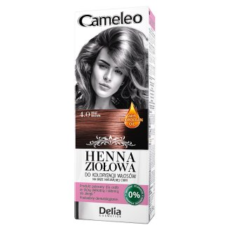 Delia Cosmetics Cameleo Coloring Hair Herbal Henna 4.0 Brown 75 g