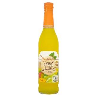 Tesco Syrop lemoniadowy o smaku mango marakui i bergamotki 430 ml