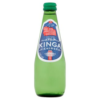 Kinga Pienińska Low Sodium Sparkling Natural Mineral Water 330 ml