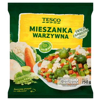 Tesco Vegetables Mix 750 g