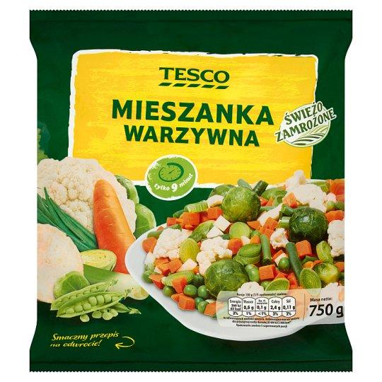 Tesco Vegetables Mix 750 g