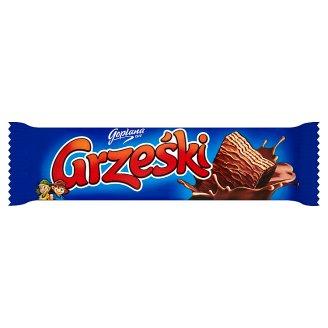 Grześki Wafer Bar with Cocoa Cream Chocolate-Coated 36 g