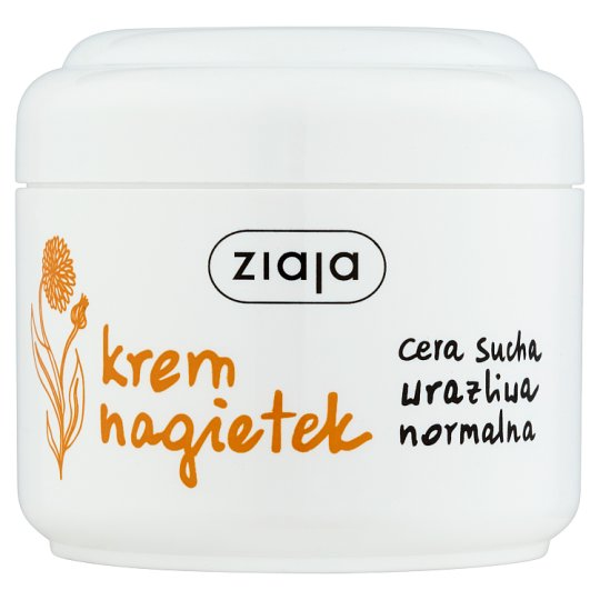 Ziaja Marigold Cream Dry Sensitive Normal Skin 100 ml