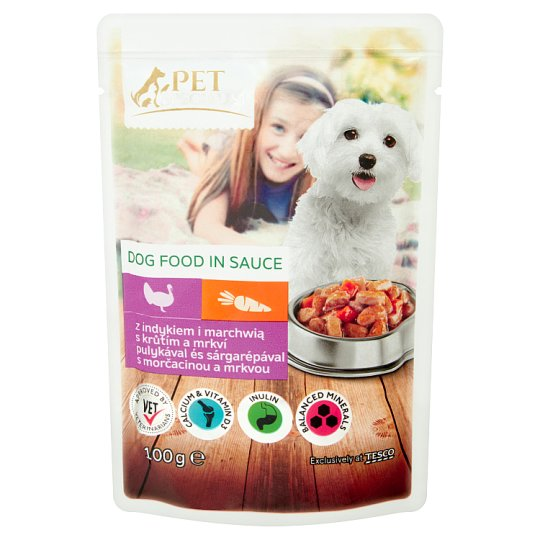 Tesco Pet Specialist Food for Adult Dogs with Turkey and Carrot in Sauce 100 g