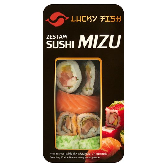 Lucky Fish Mizu Sushi Set 250 g