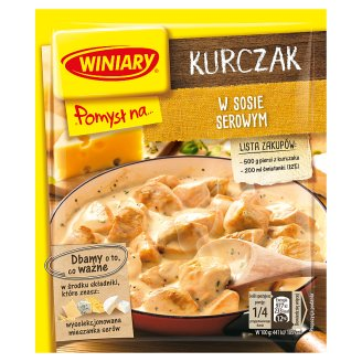 Winiary Pomysł na... Chicken in Cheese Sauce 28 g