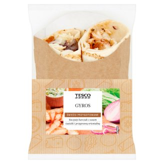 Tesco Gyros Wrap 196 g