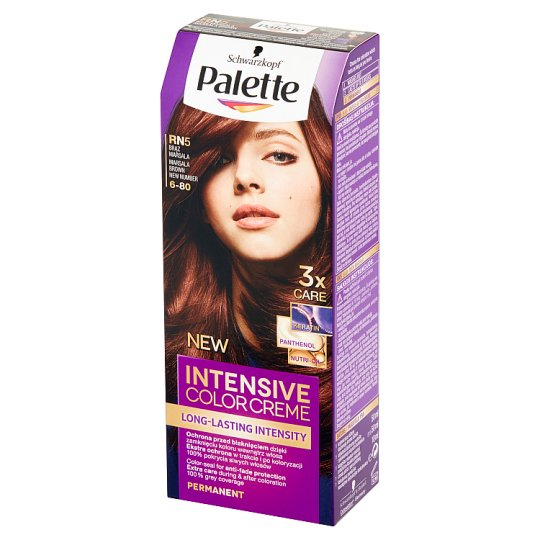 Palette Intensive Color Creme Hair Colorant Marsala Brown RN5 (6-80)