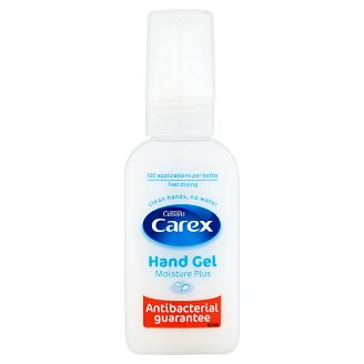 Carex Moisture Plus Anti Bacterial Hand Gel 50 ml
