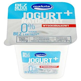 Maluta Jogurt naturalny wysokobiałkowy bez laktozy 0% 180 g