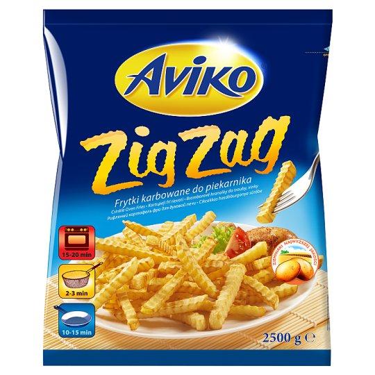 Aviko Zig Zag Crinkle Oven Fries 2500 g