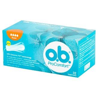 O.B. ProComfort Super Tampons 32 Pieces