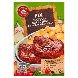 Tesco Fix Juicy Pork with Potatoes and Onion 34 g