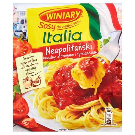 Winiary Sosy do makaronu Italia Sos neapolitański łagodny z oregano i tymiankiem 48 g