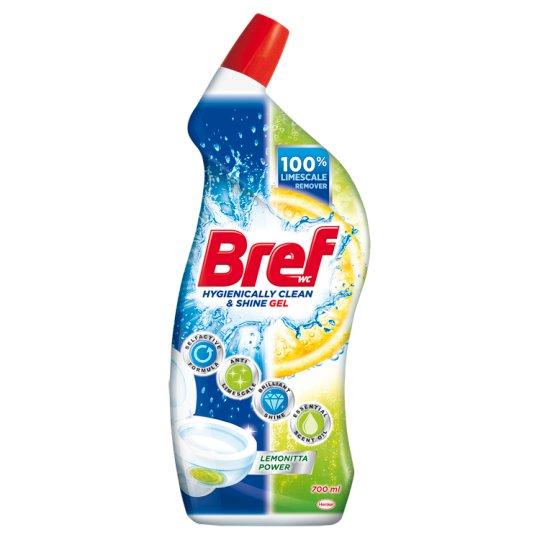 Bref WC Hygienically Clean & Shine Lemonitta Power Gel 700 ml