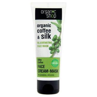 Organic Shop Organic Coffee & Silk Rejuvenating Face Mask 75 ml