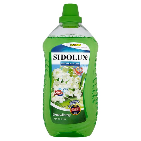 Sidolux Uniwersalny Lily of the Valley Liquid Cleaner 1 L