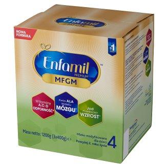 Enfamil Premium 4 Powdered Milk for Children after 2. Years Onwards 1200 g (3 Pieces)