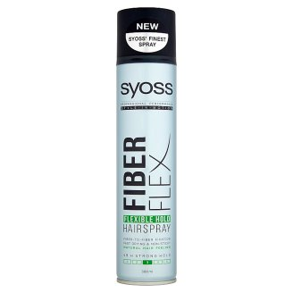 Syoss Fiberflex Flexible Hold Lakier do włosów 300 ml