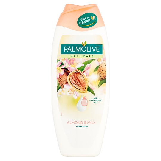 Palmolive Naturals Almond & Milk Kremowy żel pod prysznic 500 ml