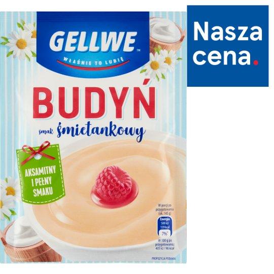 Gellwe Cream Flavour Pudding 40 g