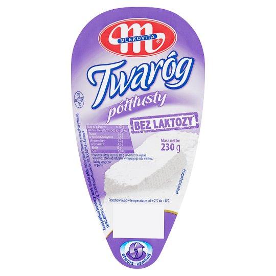 Mlekovita Half-Fat Lactose Free Cottage Cheese 230 g