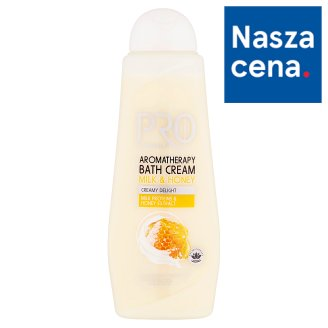 Tesco Pro Formula Milk & Honey Aromatherapy Bath Cream 750 ml