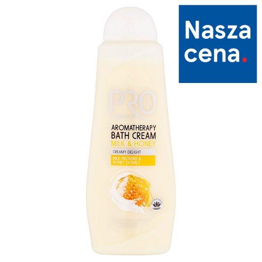 Tesco Pro Formula Milk & Honey Aromatherapy Bath Cream 750 ml