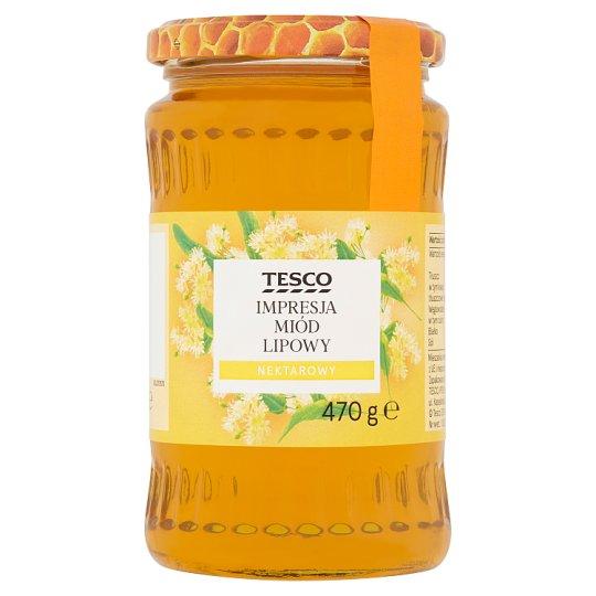 Tesco Impresja Linden Nectar Honey 470 g