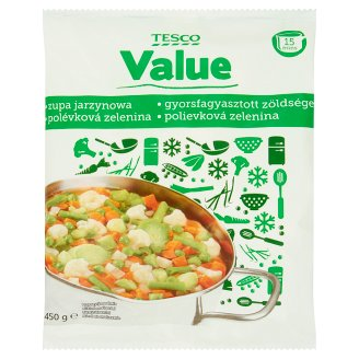 Tesco Value Vegetables Soup 450 g