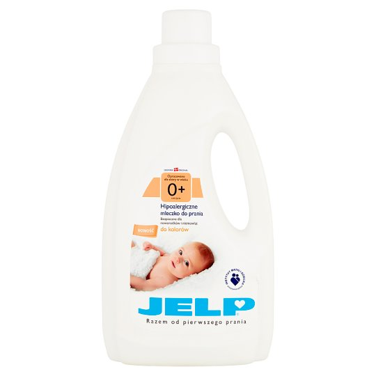JELP 0+ Hypoallergenic Washing Milk to Colors 1.5 L (18 Washes)