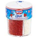 Dr. Oetker Love Mix dekoracji cukrowych 75 g