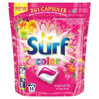 Surf Color Tropical Lily & Ylang Ylang Kapsułki do prania 337 g (14 sztuk)