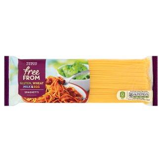 Tesco Free From Makaron z mąki ryżowej i kukurydzianej spaghetti 500 g