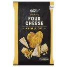 Tesco Finest Chipsy ziemniaczane o smaku czterech serów 150 g