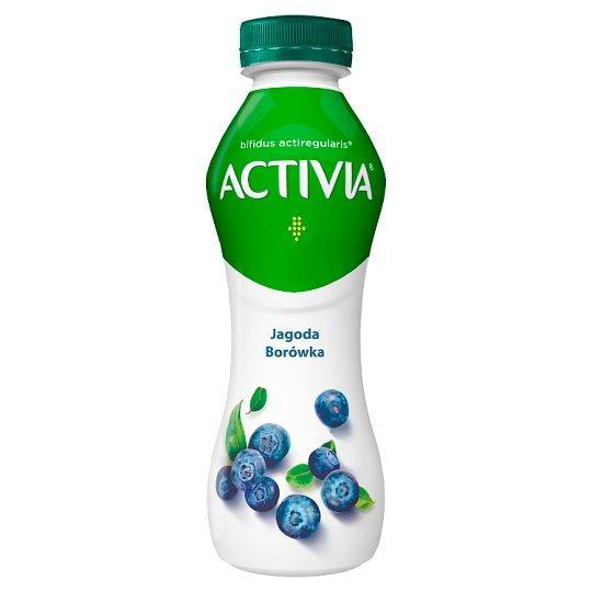 Danone Activia Jogurt jagoda-borówka amerykańska 300 g