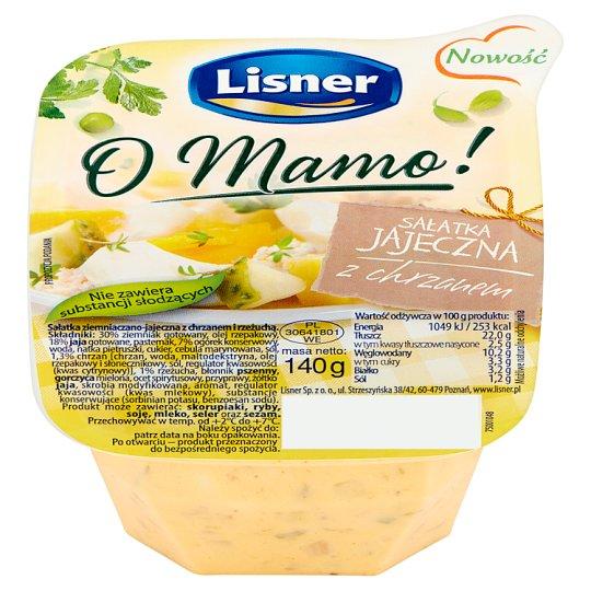 Lisner O Mamo! Sałatka jajeczna z chrzanem 140 g