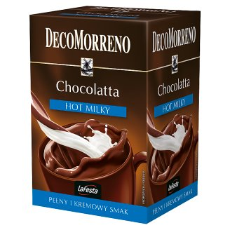 DecoMorreno La Festa Chocolatta Hot Milky Instant Drink 250 g (10 Sachets)