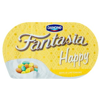 Danone Fantasia Happy Creamy Yoghurt with Cereal Beans with White Chocolate 101 g