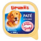 Brunos Paté with Beef Complete Food for Adults Dogs 300 g