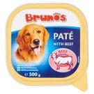Brunos Pełnoporcjowa karma dla dorosłych psów pasztet z wołowiną 300 g