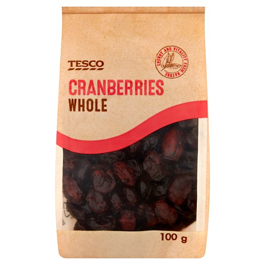 Tesco Whole Cranberries 100 g