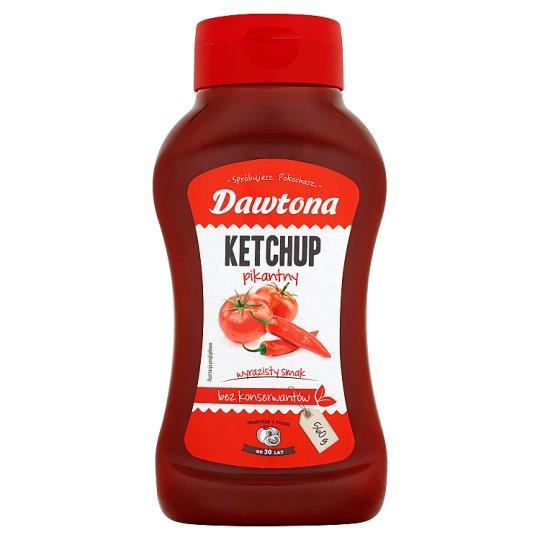 Dawtona Hot Ketchup 560 g