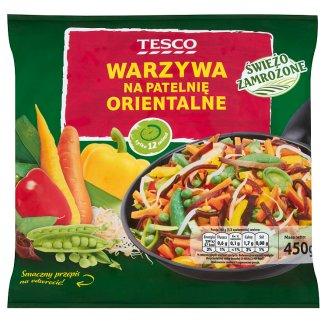 Tesco Warzywa na patelnię orientalne 450 g