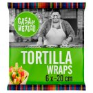 Casa de Mexico Wheat Tortilla Wrap 20 cm 240 g (6 Pieces)