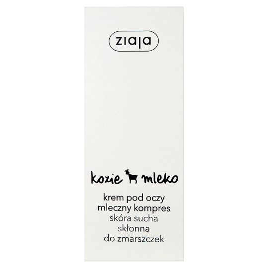 Ziaja Goat's Milk Compress Dry Skin Prone to Wrinkles Under Eyes Cream 15 ml