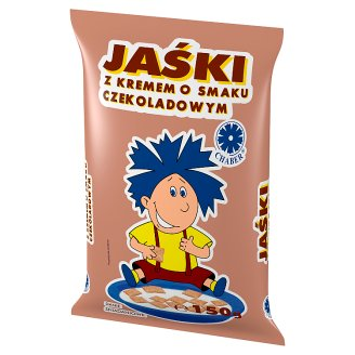 Chaber Jaśki Pillows with Chocolate Flavoured Cream 150 g