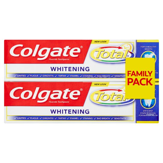 Colgate Total Whitening Pasta do zębów 2 x 75 ml
